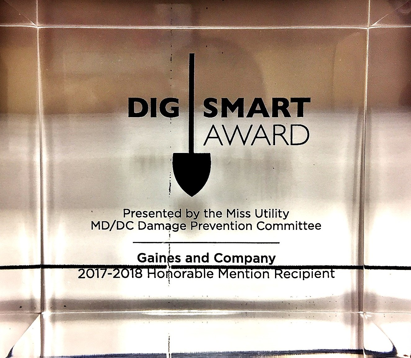 Gaines And Company Wins Dig Smart Award At 10th Annual Event Gaines And Company Site Development Little miss & good sir scanlations. gaines and company wins dig smart award