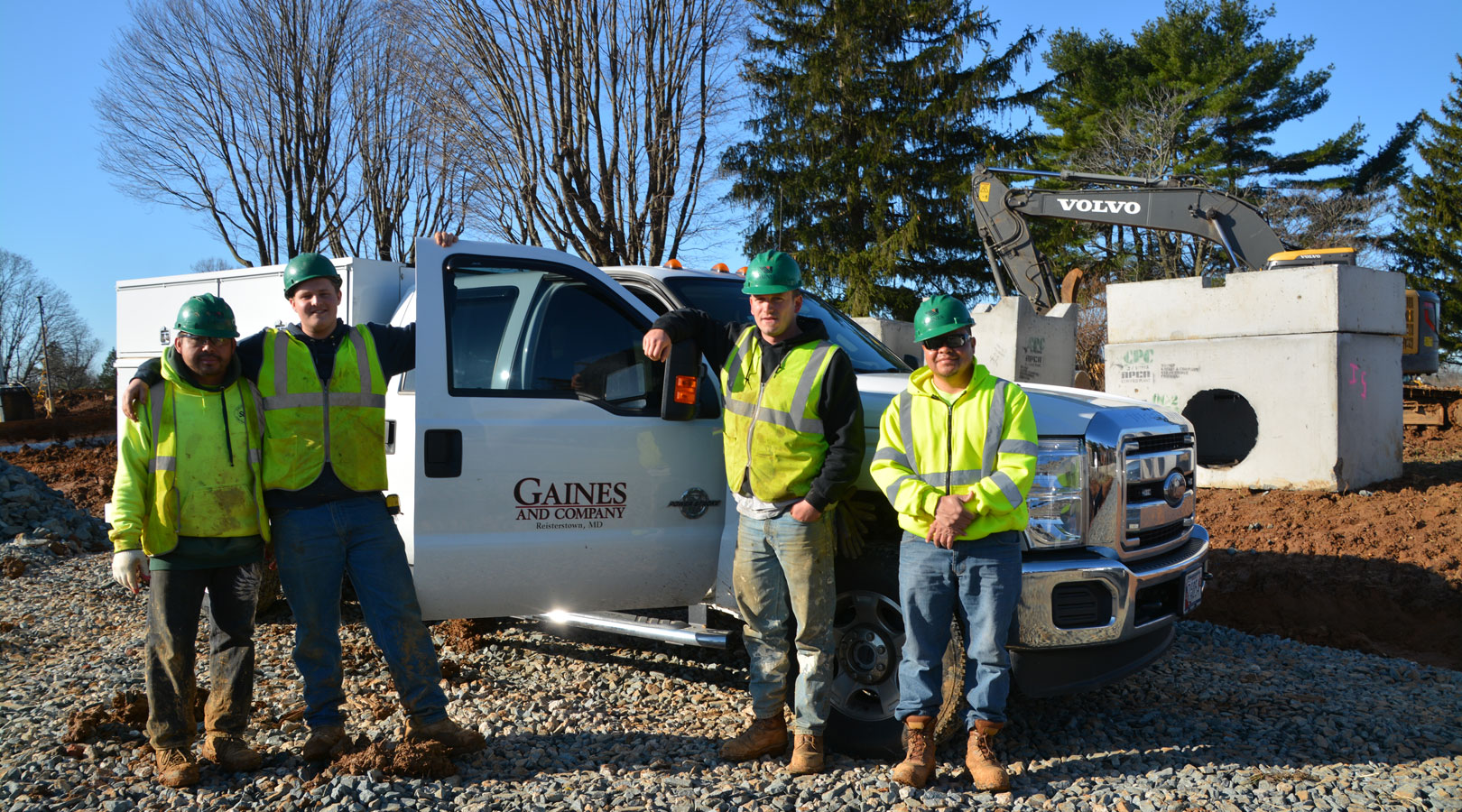 Gaines and Company | Site Development
